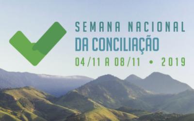 Últimos dias para inscrever processos na 14ª Semana Nacional da Conciliação