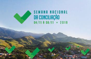 14ª Semana Nacional da Conciliação acontece de 4 a 8 de novembro