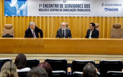 TRT-15 apresenta práticas bem-sucedidas no Primeiro Encontro de Servidores dos Núcleos e Centros de Conciliação Trabalhista promovido pelo CSJT
