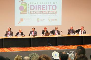 Jornadas Brasileiras de Direito Processual do Trabalho trazem debate para o TRT-2