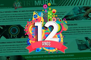 TRT Mural completa 12 anos levando informação para públicos interno e externo