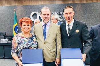 CNJ premia projetos de conciliação do TRT-2 em cerimônia realizada em Brasília