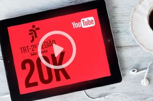 Canal do TRT-2 no YouTube bate a marca de 20 mil inscritos