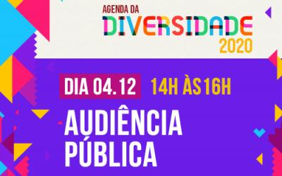 Audiência pública sobre diversidade receberá propostas dos participantes