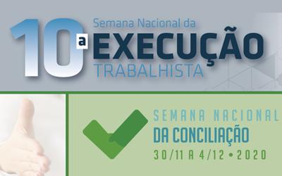 Eventos de conciliação e execução chegam à reta final